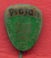 F2305 / PIVOVAR PRAZAN 1895 PRAHA 7 , BEER - Czechoslovakia Tchecoslovaquie Tschechoslowakei -  Badge Pin - Birra