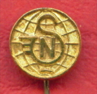 F2331 / SN - LOGO TRAVEL AGENCY - Trademarks  -  Badge Pin - Marche