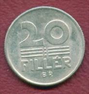 F2724 / - 20 Filler - 1969 -  Hungary Hongrie Ungarn - Coins Munzen Monnaies Monete - Hungary