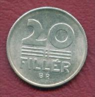 F2726 / - 20 Filler - 1974 -  Hungary Hongrie Ungarn - Coins Munzen Monnaies Monete - Hongrie