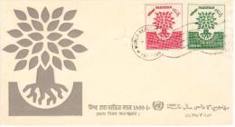 PAKISTAN - FDC, 1960 Help The Refugees Cover - Pakistan
