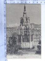 CPA SUISSE - GENEVE - Monument Brunswick Et Le Mont Blanc - GE Genève