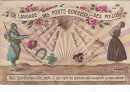 Le Langage Des Porte Bonheur Des Poilus - War 1914-18