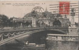 PARIS LE PONT ALEXANDRE III ET LE GRAND PALAIS - Ponts