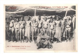 Ganthiomé (Chef De Léré) Et Ses Femmes - Congo - Kinshasa (ex Zaire)