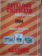 CATALOGO UNIFICATO SPAGNA - PORTOGALLO  ANNO 1994 - Spagna