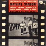 """B-O-F  Joe Hajos  """"  Mathias Sandorf  """" - Filmmusik"""