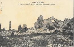 Environs De Lunéville - Guerre 1914-1917 - Les Ruines De La Ferme De Léomont - Carte Non Circulée - Guerra 1914-18