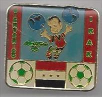 Pins Bienvenido. Mexico '86. Irak. Voetbal. Pins. Sporting. Sport. STK 2245. FMF.85. - Voetbal