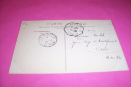 TIMBRE OBLITERATION FLAMME° PAU A TOULOUSE  LE 11 12 1905 - Marcophilie (Lettres)