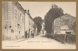 Carte Précurseur - SALORNAY Sur GUYE. - Grande Rue Gandin - GENDARMERIE - GENDARME - Francia
