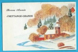 Carte Bonne Année Hettange-Grande - Altri Comuni