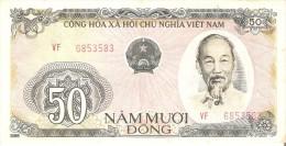 BILLETE DE VIETNAM DE 50 DONG DEL AÑO 1985  (BANKNOTE) - Vietnam