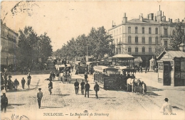 TOULOUSE  LE BOULEVARD DE STRASBOURG - Toulouse