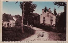 70 - Haute Saone - Senargent - Route De Saint Georges - France