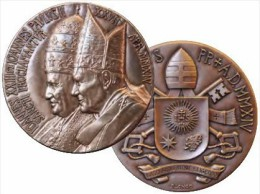 2014 - VATICANO - VATIKAN - Canonizzazione Di Papa Giovanni XXIII E Papa Giovanni Paolo II - Vatican