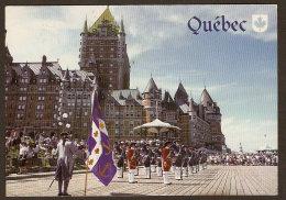 Quebec City - Compagnie Franche De La Marine - Terrasse Dufferin Circa 1990 - New France - Québec - Château Frontenac