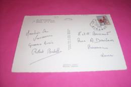 TIMBRE OBLITERATION FLAMME°  LE CANON  LE 24 07 1965 GIRONDE  COQ  0.25 Fr - Marcophilie (Lettres)