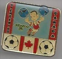 Pins Bienvenido. Mexico '86. Canada. Voetbal. Pins. Sport. STK 2142. FMF.85. - Voetbal