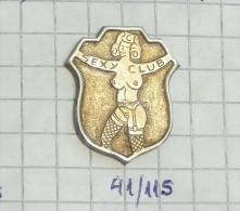Pin-up,  Pin Ups SEXY CLUB - Ex Yugoslavia / Rare - Pin-ups