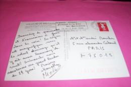 TIMBRE OBLITERATION FLAMME° 22 PERROS GUIREC  FESTIVAL DE LA CITE DES HORTENSIAS LE 12 ET 13 AOUT 1995 - Marcophilie (Lettres)