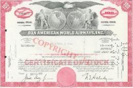 Pan American World Airways, Inc. - Aviation