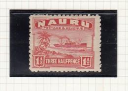 NAURU - 1924 - Great Britain (former Colonies & Protectorates)