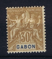 Gabon: Yvert Nr 19 MH/* - Unused Stamps