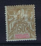 Guadeloupe : Yvert Nr 44 MH/* - Neufs
