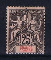Grande Comore : Yvert Nr 8 MH/* - Grande Comore (1897-1912)