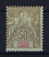 Grande Comore : Yvert Nr 13  Not Used (*) - Grande Comore (1897-1912)