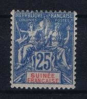 Guinee Francaise : Yvert Nr 16 MH/*, - French Guinea (1892-1944)
