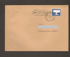 BRD Europa 1957 Mi.Nr.269 Als Einzelfrankatur A.Brief Mit Landpoststempel Aus Mittelurbach über Aulendorf - Briefe U. Dokumente