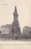 CPA 25/ 1898-1905 Ed. F.R. (zeldzaam, Met Groene Tekst), Antwerpen Monument Vrijmaking Schelde Als Nieuw - Antwerpen