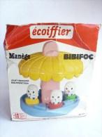 RARE MANEGE TOUPIE  BIBIFOC - ECOIFFIER 80s - Figurines