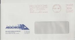 Mouton, Bélier, Cher, Aubigny Sur Nere- EMA Secap - Enveloppe Complète   (N225) - Stamps