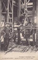 MONTCEAU LES MINES, Descente D'un Cheval Dans La Mine, 3e Phase, écrite - Montceau Les Mines