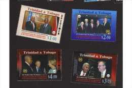 Trinidad & Tobago 2003 Sg 970-3 Inaug. Criminal Court MNH - Trinidad & Tobago (1962-...)