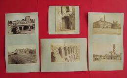 13 Photos Anciennes ITALIE Rome Tibere Cesar Vespasien Cesari Italia Roma Foto - Luoghi