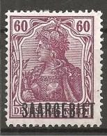 Saargebiet 1920 - Michel 39 Ungebr. - Abstimmungsgebiete