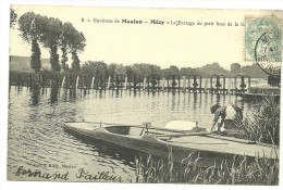 Environs De MEULAN- MEZY, Le Barrage Du Petit Bras De La Seine - Meulan