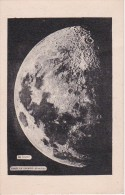 CPA La Lune - Après Le Premier Quartier (2857) - Astronomie