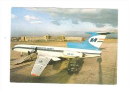 Postcard - Malev, Tupoljev TU-54    (V 21587) - 1946-....: Moderne