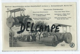 Carte - Rouleaux Compresseurs à Trois Rouleaux à Moteur Diesel- - Tracteurs