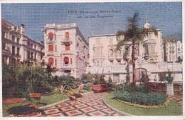 MONTE-CARLO  HOTEL METROPOLE  Les Jardins Suspendus - Monte-Carlo