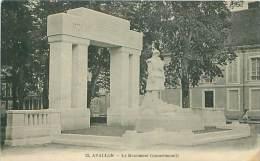 89 - AVALLON - Le Monument Commémoratif - Avallon