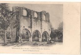 Menigoute ( Deux Sevres ) Ancienne Abbaye Des Chatelliers -* Précurseur Neuve Excellent état - Otros Municipios