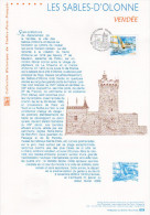 """(Prix à La Poste = 5 €) """" LES SABLES D'OLONNE """"  Sur Document Officiel De 2009. N° YT 4334. Parfait état. DPO - 2000-2009"""