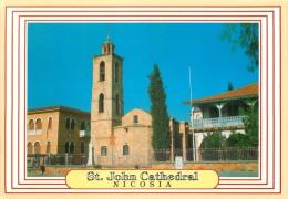 St John Cathedral, Nicosia, Cyprus Postcard - Chypre