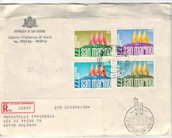 SAN MARINO - 1977 - COURVOISIER - FDC - Ufficio Filatelico Governativo - RACCOMANDATA - FDC